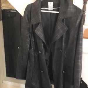 Black p coat